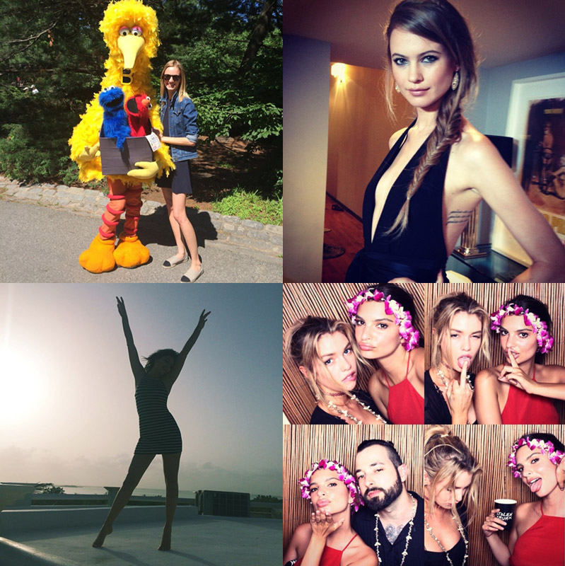 instagram june summer Instagram Photos of the Week | Daria Strokous, Behati Prinsloo + More Models