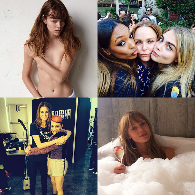 instagram weekly model Instagram Photos of the Week | Freja Beha Erichsen, Behati Prinsloo + More Models