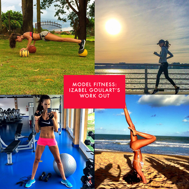 izabel goulart instagram fitness Model Fitness! 12 Instagrams of Izabel Goulart Working Out