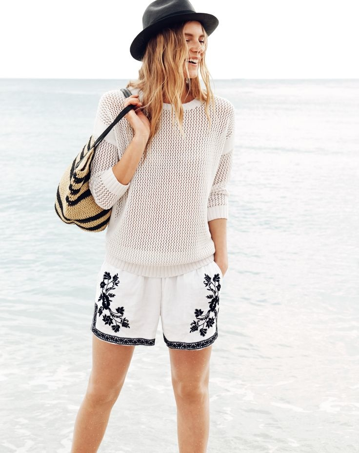 j crew july 2014 style guide19 Ieva Laguna Poses for J. Crews July Style Guide
