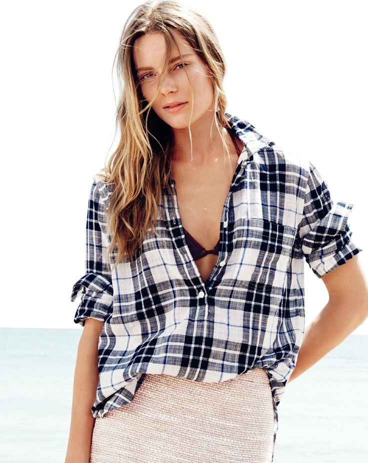 j crew july 2014 style guide20 Ieva Laguna Poses for J. Crews July Style Guide