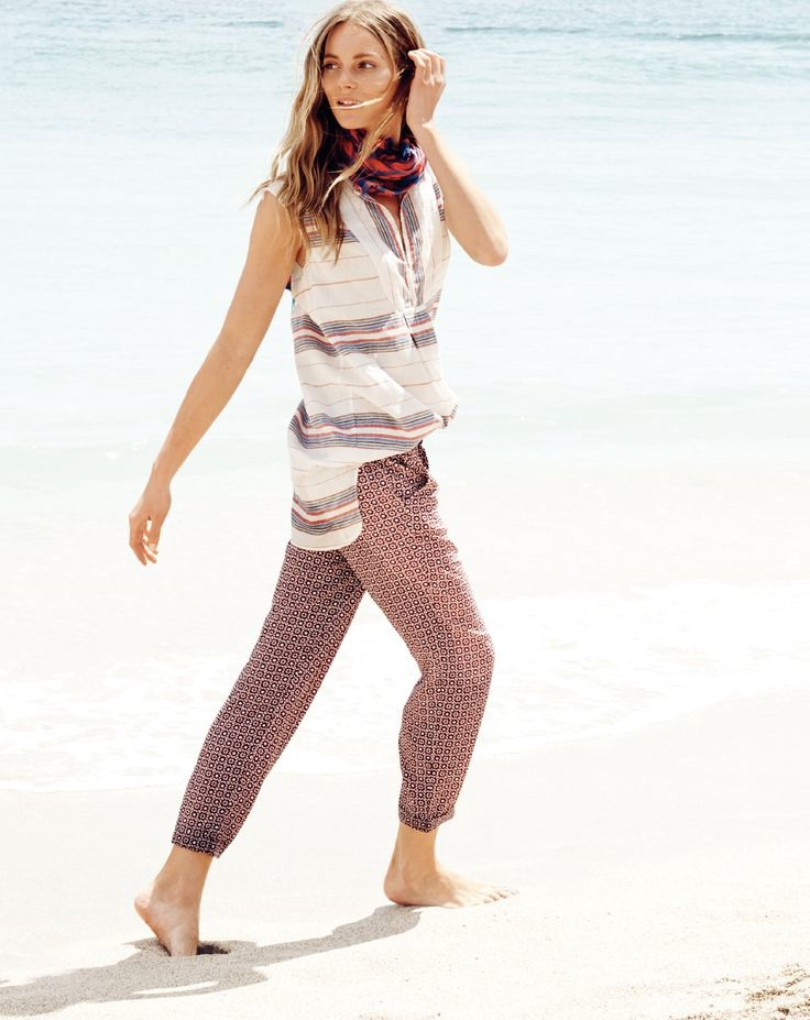 j crew july 2014 style guide9 Ieva Laguna Poses for J. Crews July Style Guide