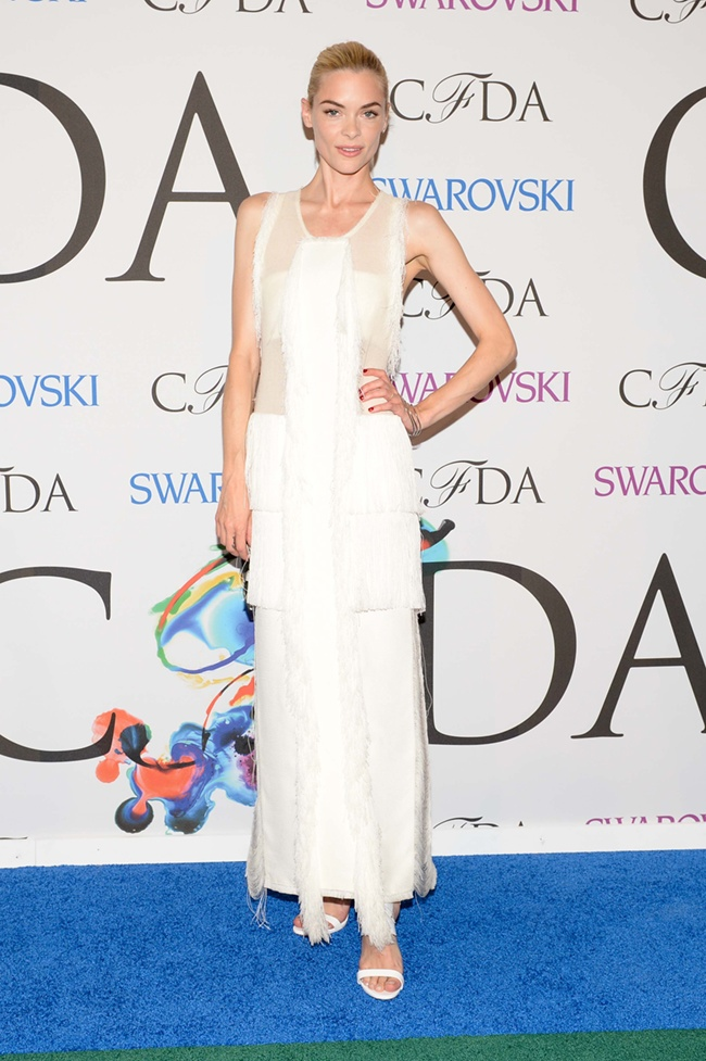 Jaime King was spotted in Calvin Klein Collection