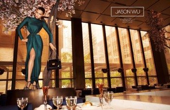 Adriana Lima Stars in Jason Wu's Fall 2014 Campaign