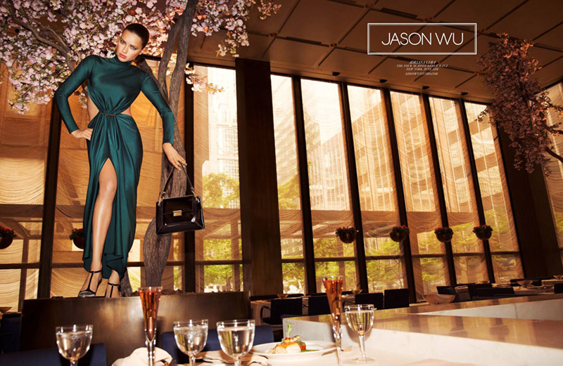 jason wu fall 2014 campaign Adriana Lima Stars in Jason Wus Fall 2014 Campaign