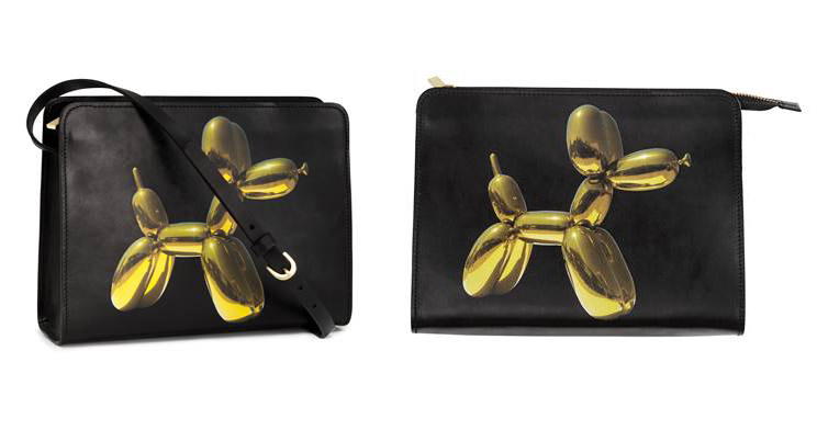 jeff koons hm bag H&M Collaborates with Artist Jeff Koons on Handbag