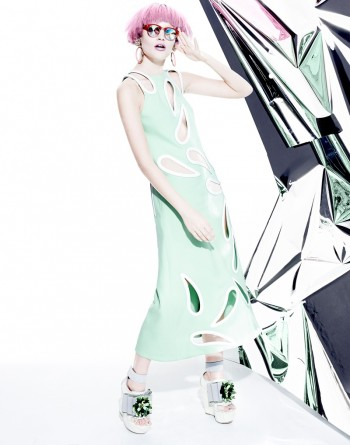 """Manolo Campion Captures """"Jem and the Holograms"""" Inspired Fashion for V"""