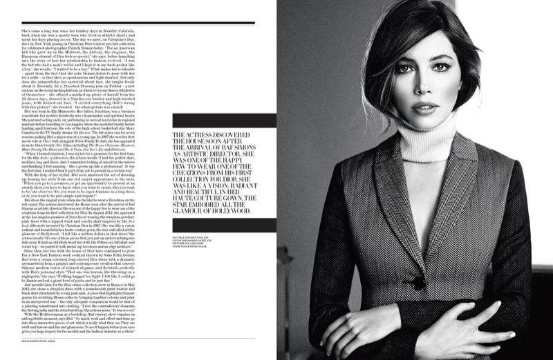 jessica biel dior magazine photo shoot2 Jessica Biel is Sitting Pretty in Dior Magazine by Patrick Demarchelier