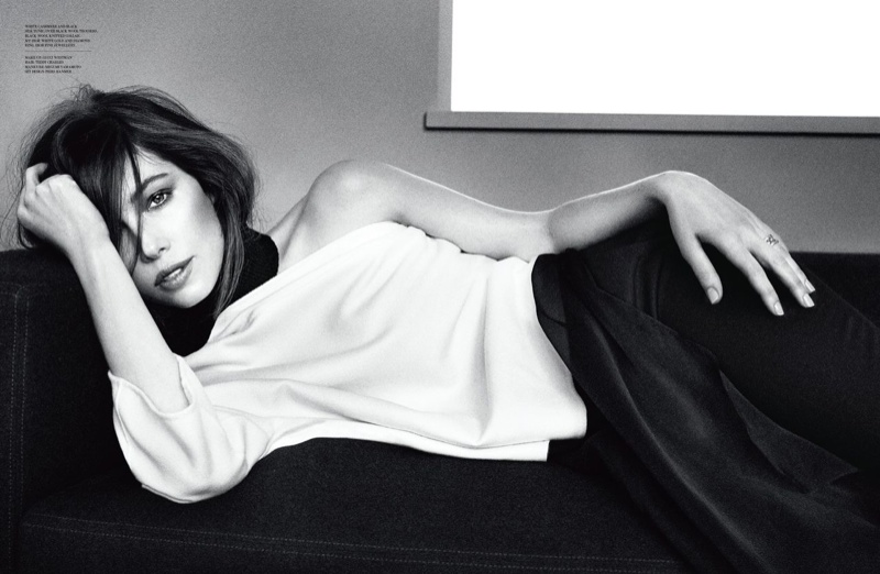 Jessica Biel is Sitting Pretty in Dior Magazine by Patrick Demarchelier