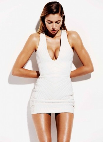 Jessica Hart is White Hot in Bazaar Australia Photos by Simon Upton