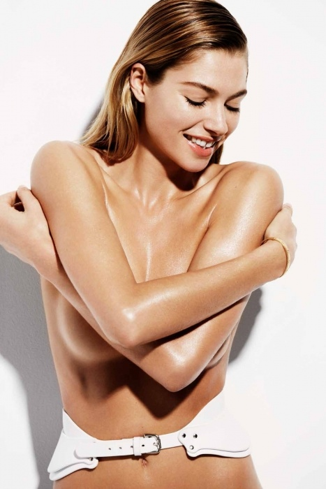 jessica hart hot 3 Jessica Hart is White Hot in Bazaar Australia Photos by Simon Upton