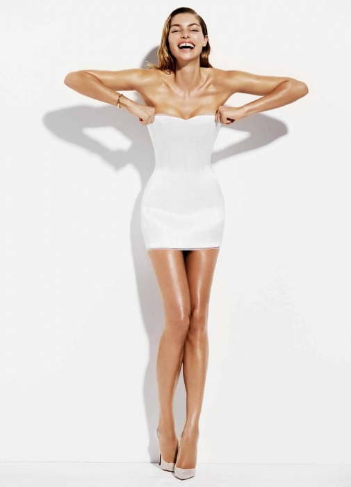 jessica hart hot 4 Jessica Hart is White Hot in Bazaar Australia Photos by Simon Upton