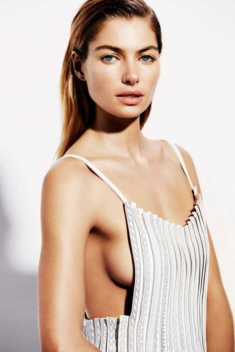 jessica hart hot 7 Jessica Hart is White Hot in Bazaar Australia Photos by Simon Upton
