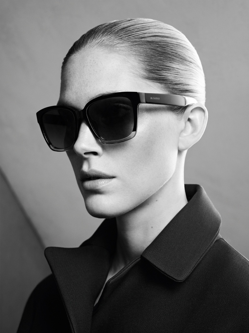 jil sander fall winter 2014 campaign5  Jil Sander Keeps it Simple for Fall 2014 Ads with Iselin Steiro