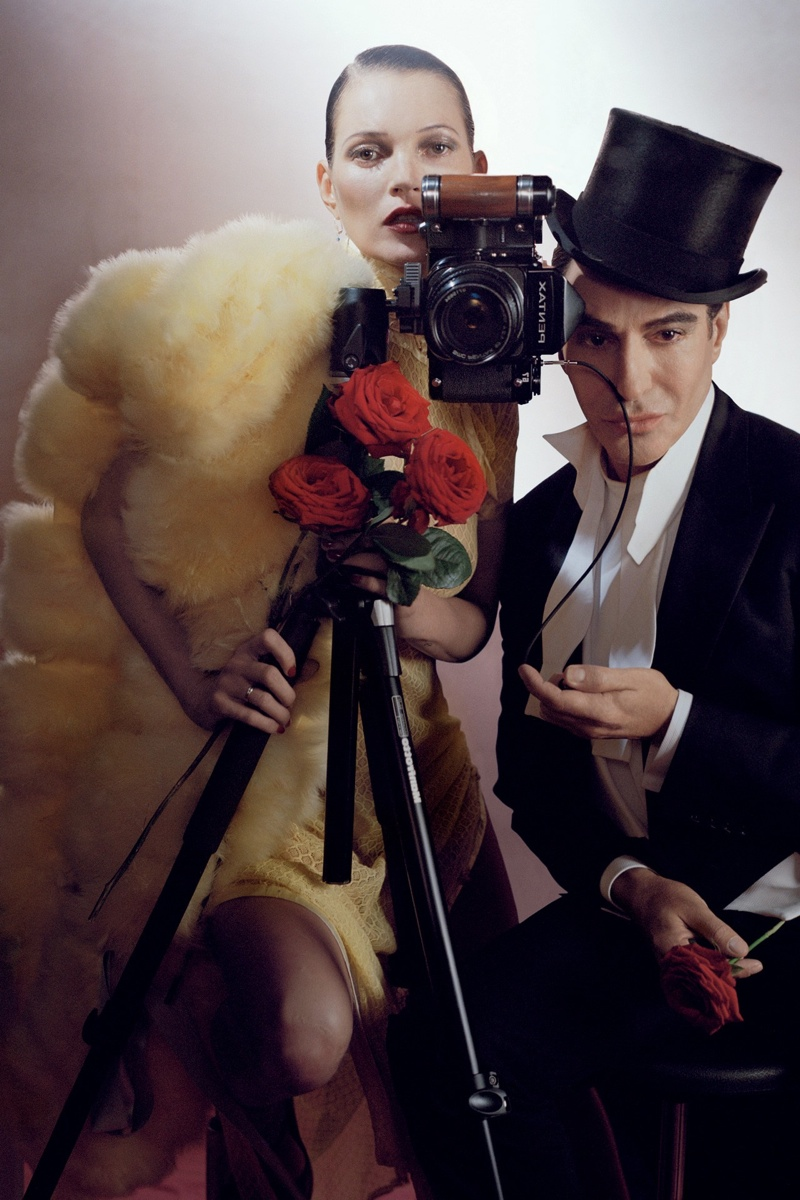 Kate Moss & John Galliano in Vogue UK December 2013 by Tim Walker. Photo: Vogue UK website