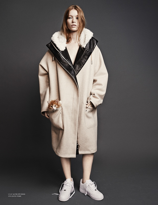 julia hafstrom cat9 Julia Hafstrom Lounges with Cats in Scandinavia S/S/A/W by Hasse Nielsen