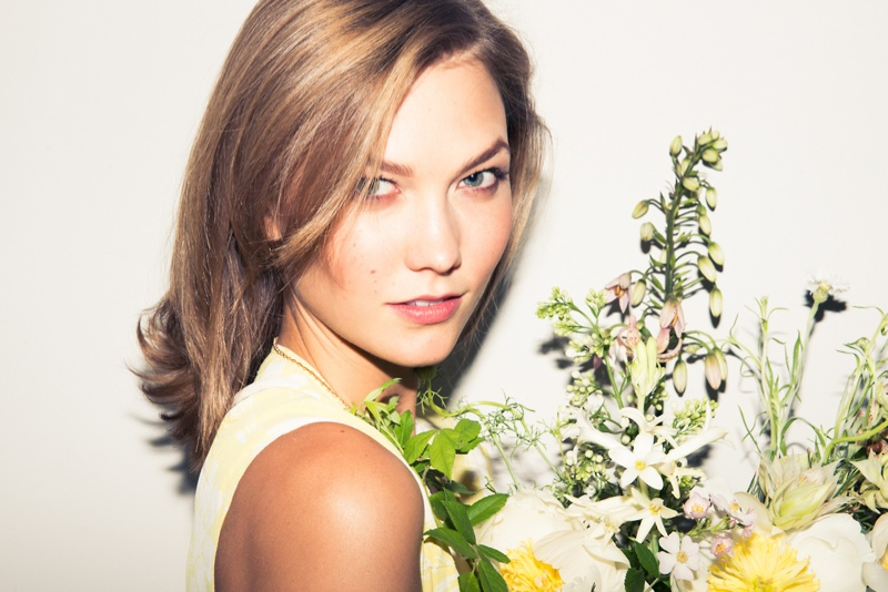 karlie kloss coveteur7 Karlie Kloss Poses for The Coveteur, Names Audrey Hepburn as Her Style Inspiration