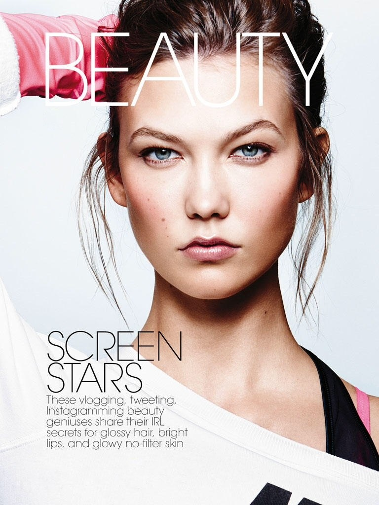 karlie kloss workout shoot1 Karlie Kloss Does Sporty Glam Right for ELLE Photo Shoot