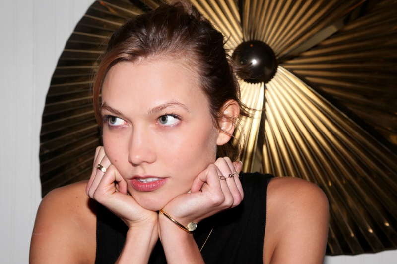 karlie modeling2 Karlie Kloss Doesnt Consider Model a Job Title