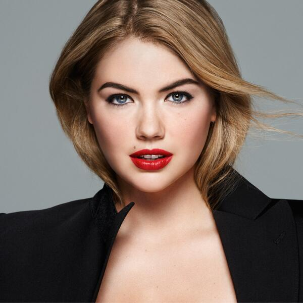 kate upton bobbi brown ad campaign photo1 Here Are Kate Uptons First Bobbi Brown Makeup Ads