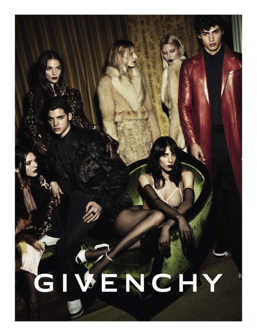 kendall jenner givenchy fall 2014 campaign Kendall Jenner Lands Givenchy Fall 2014 Campaign