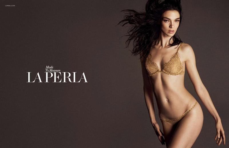 First Look | Mariacarla Boscono for La Perla Lingerie Fall 2014 Campaign