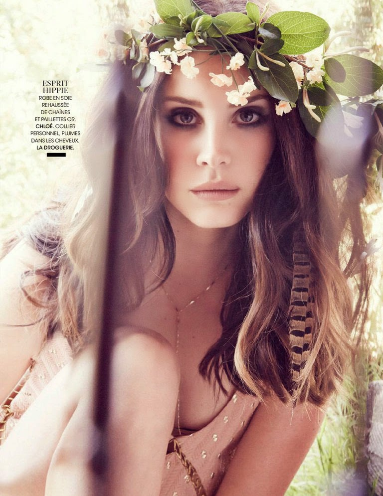 lana del rey 2014 3 Lana Del Rey is an Absolute Dream in the June Cover Story of Madame Figaro