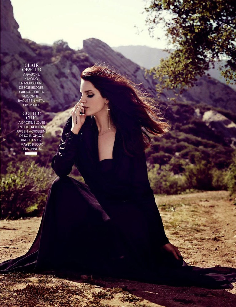 lana del rey 2014 6 Lana Del Rey is an Absolute Dream in the June Cover Story of Madame Figaro