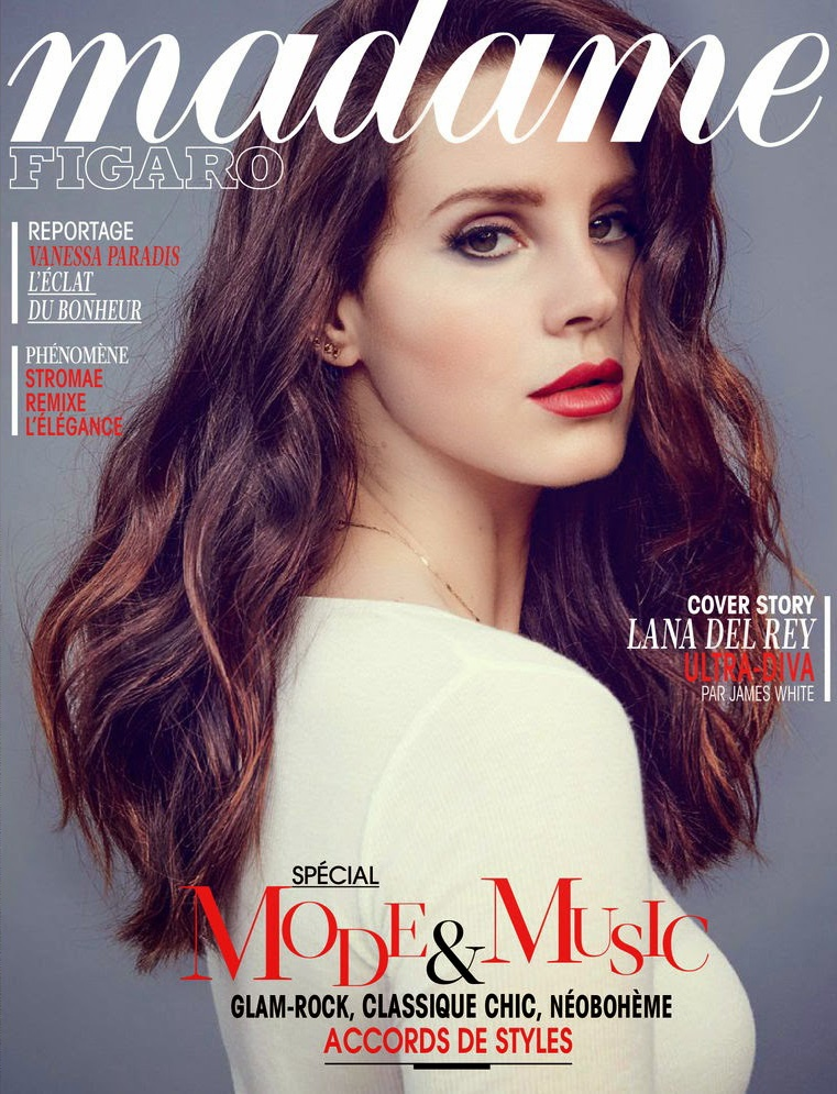 lana del rey 2014 9 Lana Del Rey is an Absolute Dream in the June Cover Story of Madame Figaro