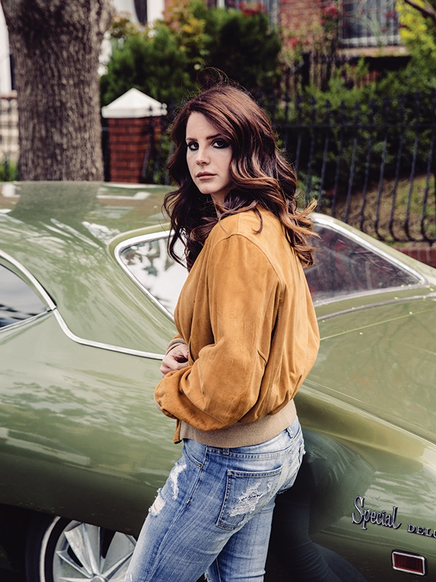 Lana Del Rey Stars in Fader, Says She's Not Interested in Feminism