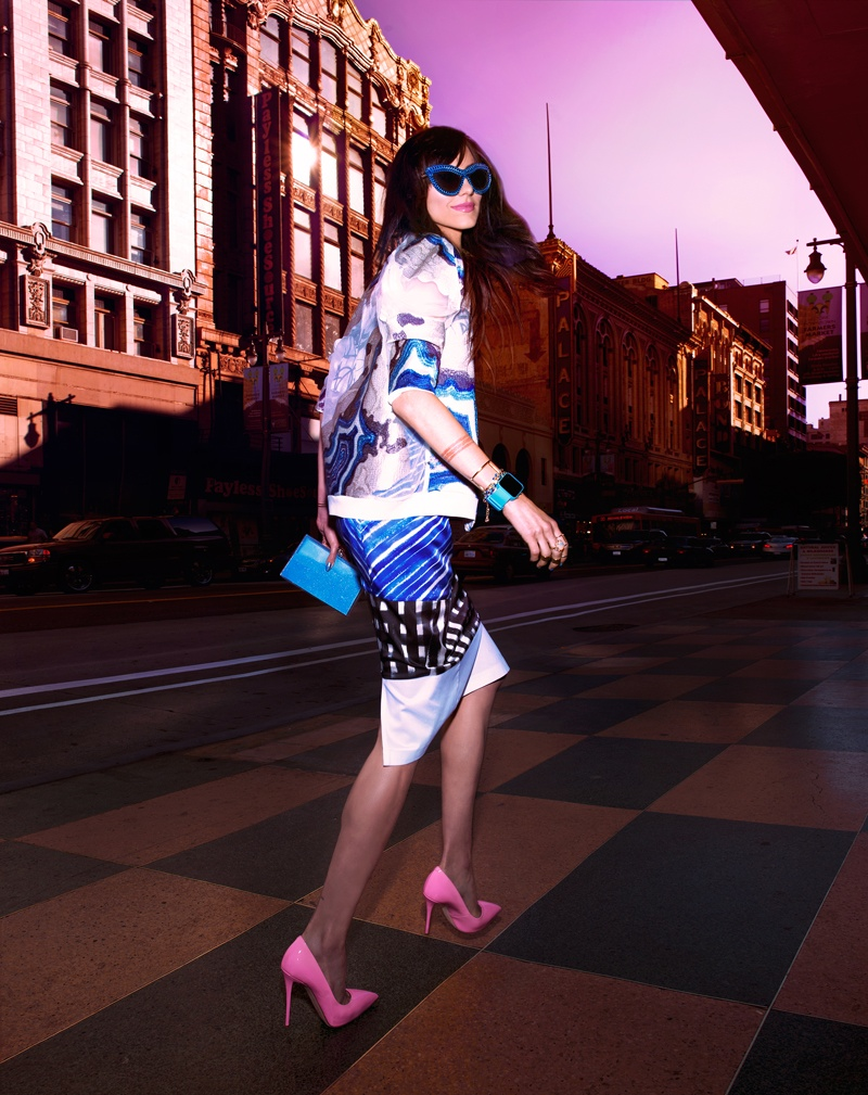 langley fox hemingway model4 Langley Fox Hemingway is City Chic for Bazaar China by Markus&Koala