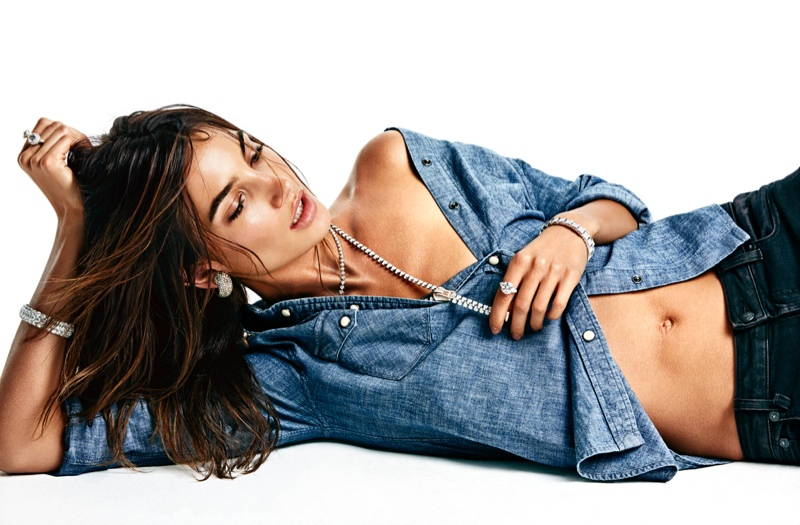 lily aldridge model 2014 10 Lily Aldridge is Smoking Hot for Vogue Mexico Photo Shoot by James Macari