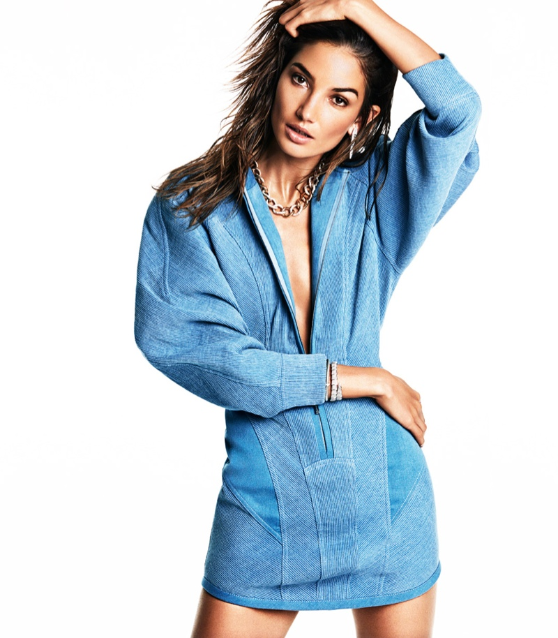 lily aldridge model 2014 2 Lily Aldridge is Smoking Hot for Vogue Mexico Photo Shoot by James Macari