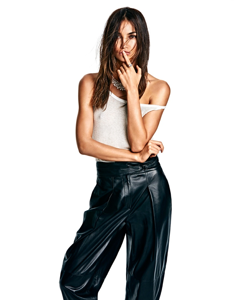 lily aldridge model 2014 5 Lily Aldridge is Smoking Hot for Vogue Mexico Photo Shoot by James Macari