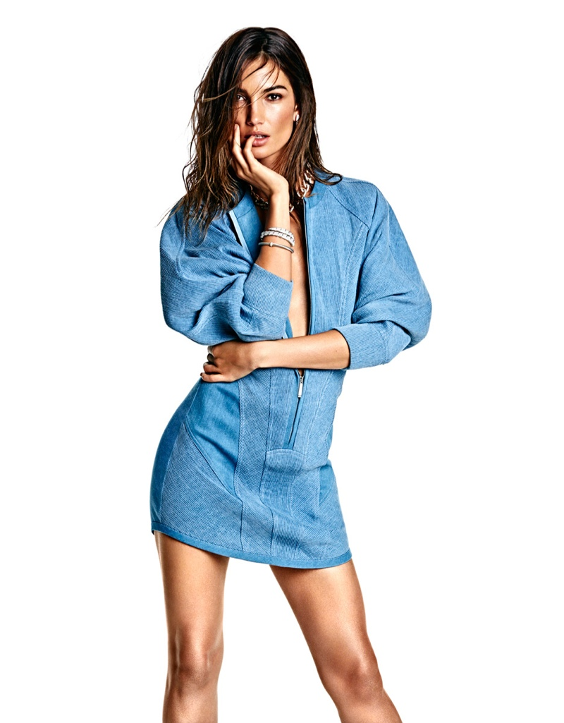 Lily Aldridge is Smoking Hot for Vogue Mexico Photo Shoot by James Macari