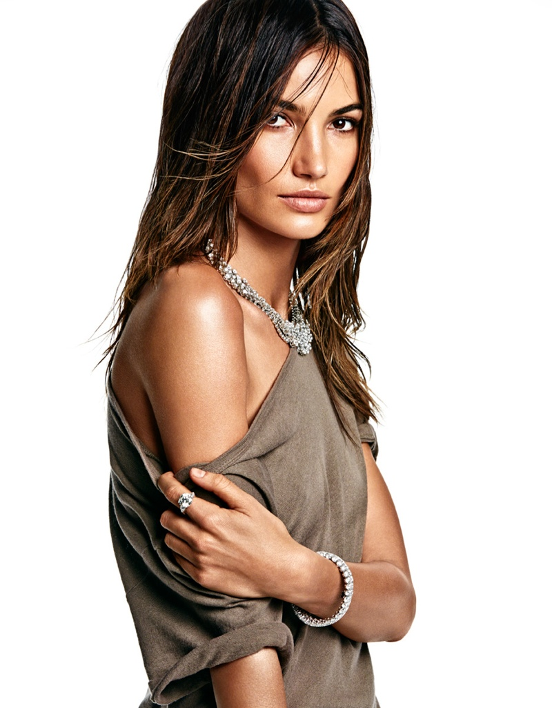 lily aldridge model 2014 9 Lily Aldridge is Smoking Hot for Vogue Mexico Photo Shoot by James Macari