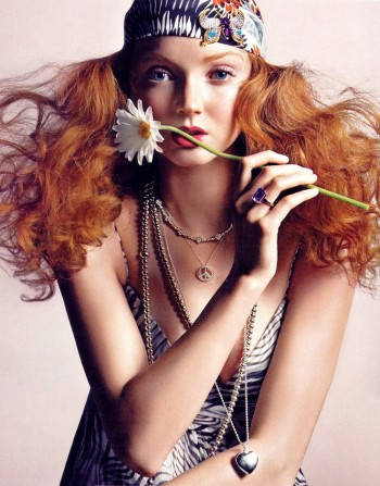 Fiery Beauties: 8 Famous Models with Red Hair