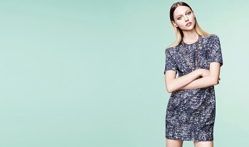 Sasha Pivovarova Keeps it Simple in Loudmut's Spring 2014 Campaign