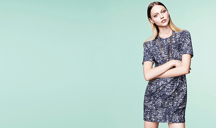 loudmut sasha pivovarova spring 2014 campaign photos8 Sasha Pivovarova Keeps it Simple in Loudmuts Spring 2014 Campaign