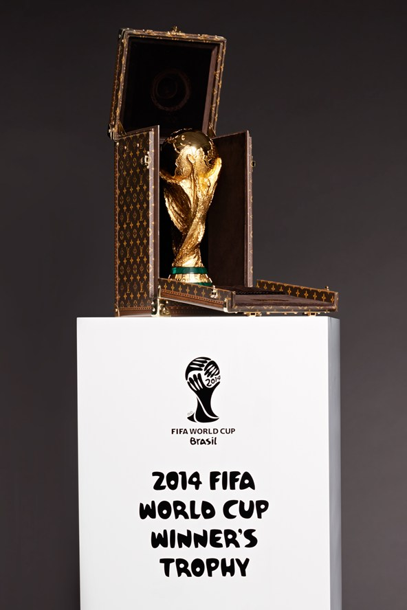 Louis Vuitton Designs World Cup Trophy Case