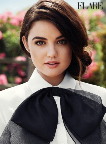 Lucy Hale Covers FLARE, Talks Calling Out Ex-Boyfriends