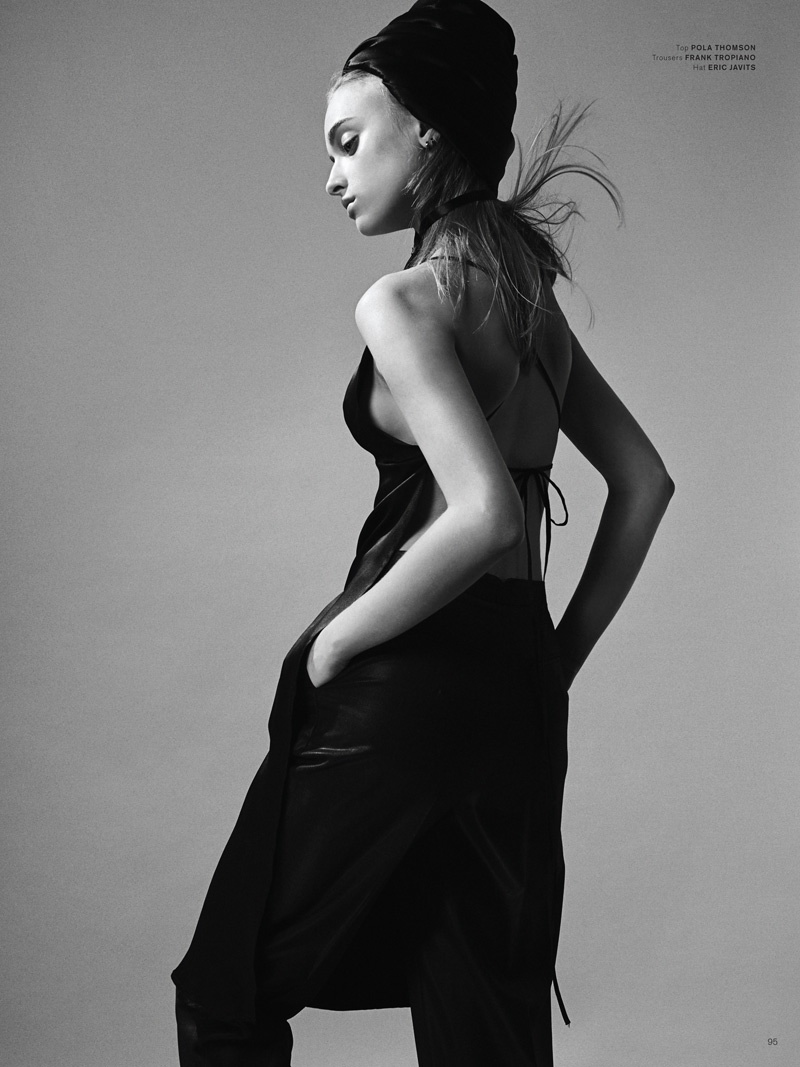 marcelina sowa model10 Marcelina Sowa in Sleek Styles for Archetype #1 by Felix Wong