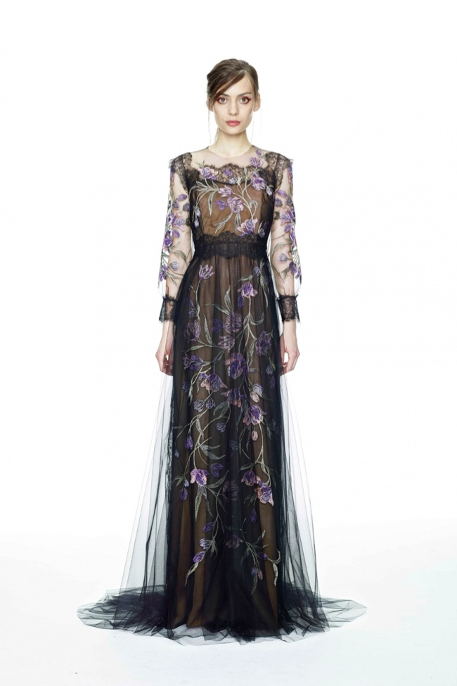 marchesa resort 2015 photos8 Marchesa's Romantically Demure Resort 2015 Collection