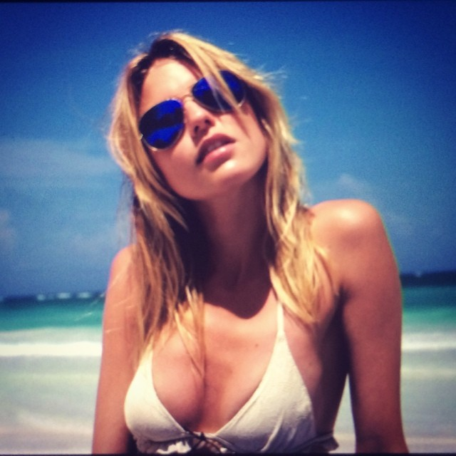 martha hunt beach Instagram Photos of the Week | Barbara Palvin, Miranda Kerr + More Models