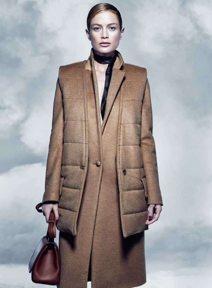 maxmara fall 2014 campaign carolyn murphy photos10 Carolyn Murphy Serves Up Ladylike Glam for Max Mara Fall 2014 Campaign