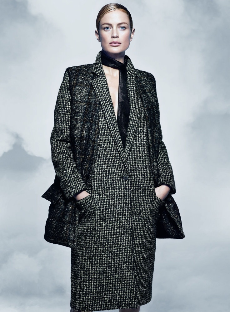 maxmara fall 2014 campaign carolyn murphy photos11 Carolyn Murphy Serves Up Ladylike Glam for Max Mara Fall 2014 Campaign