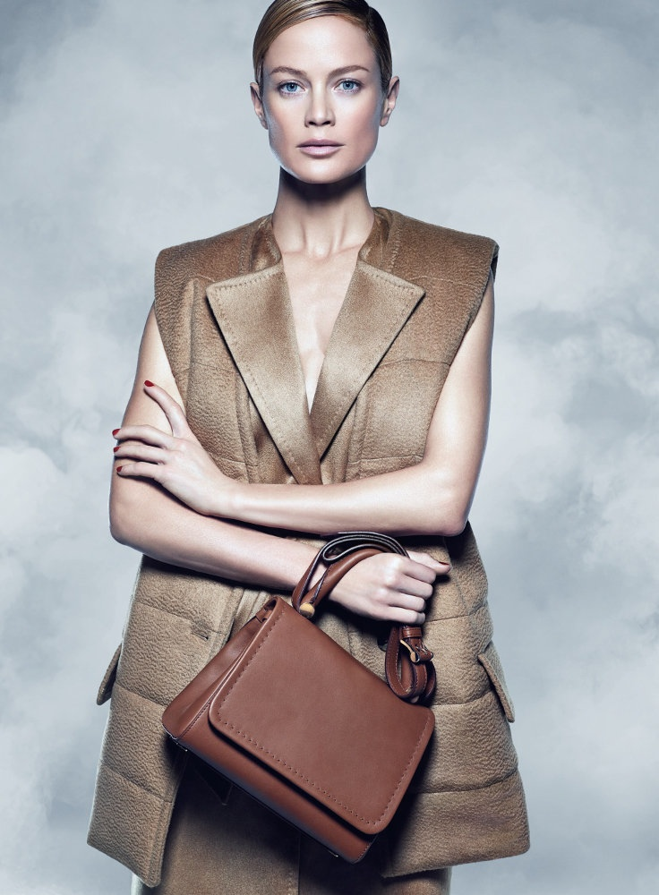 maxmara fall 2014 campaign carolyn murphy photos2 Carolyn Murphy Serves Up Ladylike Glam for Max Mara Fall 2014 Campaign