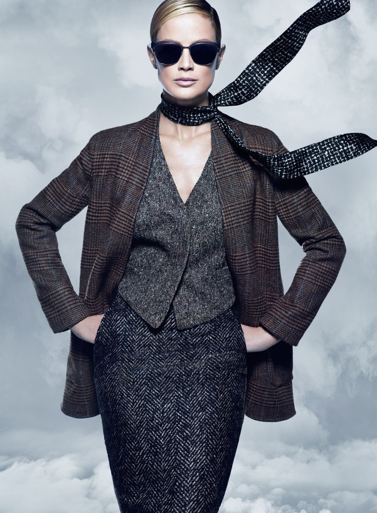 maxmara fall 2014 campaign carolyn murphy photos3 Carolyn Murphy Serves Up Ladylike Glam for Max Mara Fall 2014 Campaign
