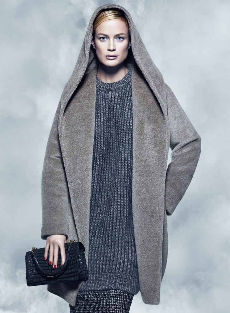 maxmara fall 2014 campaign carolyn murphy photos6 Carolyn Murphy Serves Up Ladylike Glam for Max Mara Fall 2014 Campaign