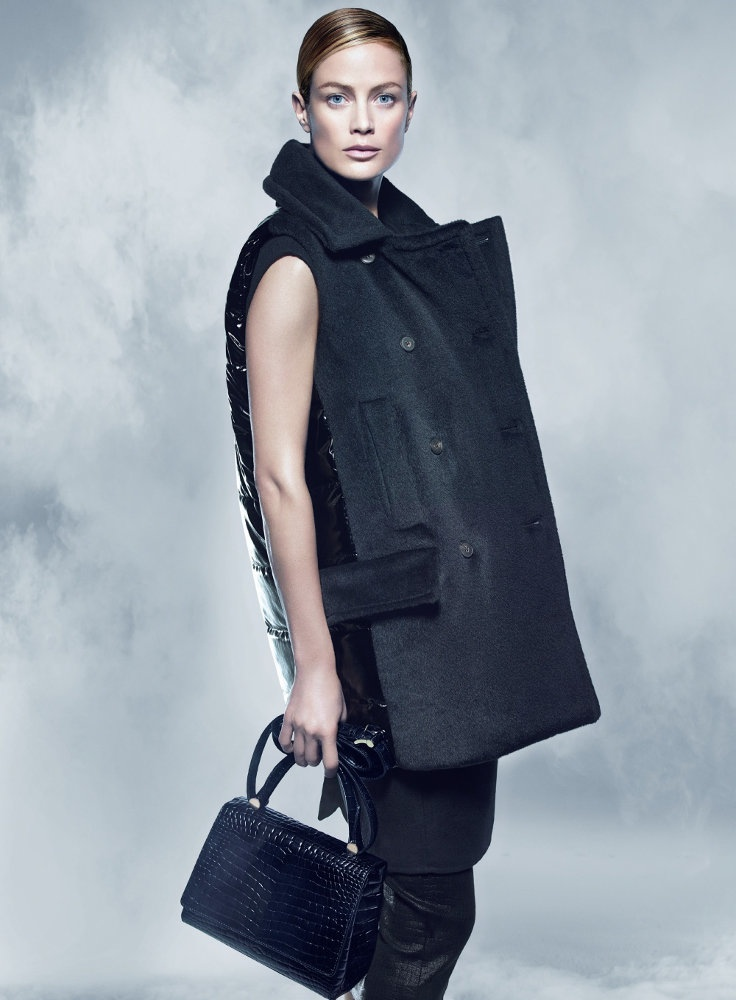 maxmara fall 2014 campaign carolyn murphy photos9 Carolyn Murphy Serves Up Ladylike Glam for Max Mara Fall 2014 Campaign